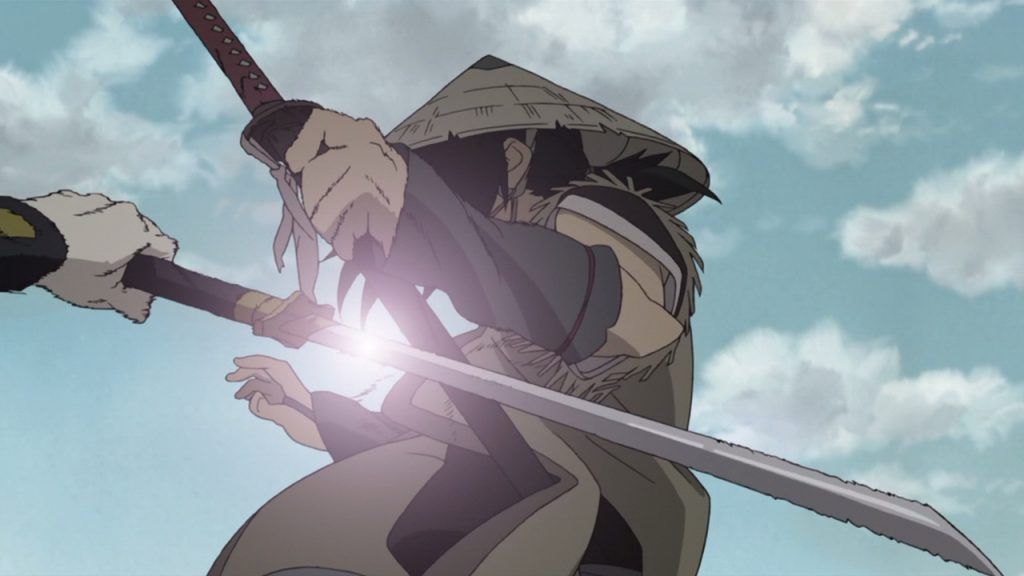 anime with swords